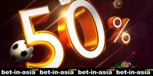 50 percent redeposit bonus