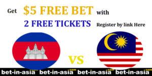 cambodia malaysia free bet free ticket