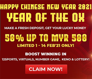 2021 chinese new year promotion 12bet