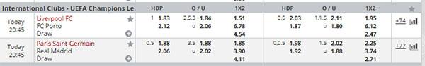 dafabet odds uef 6 3 2018