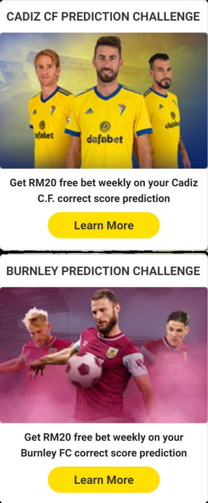 dafabet predictions 2021 bonus free bet