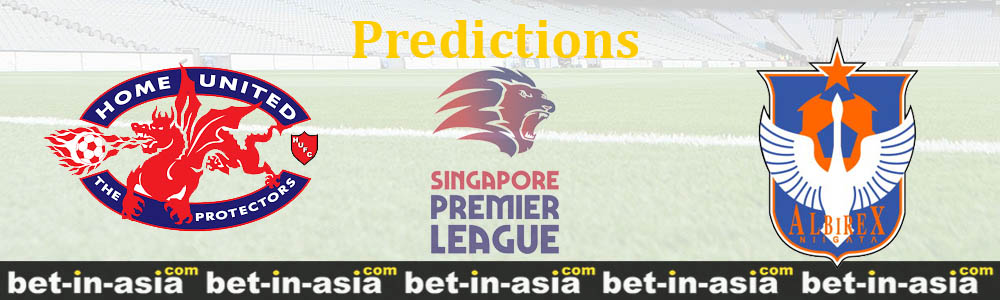 home united albirex predictions