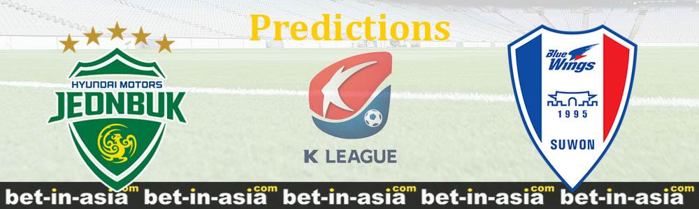 jeonbuk suwon predictions