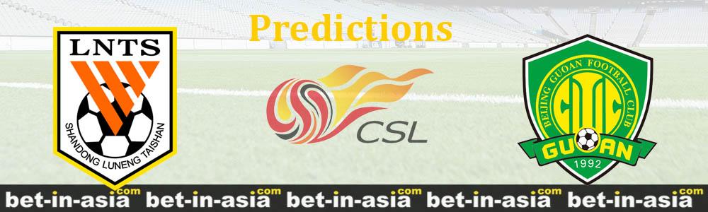shandong guoan predictions