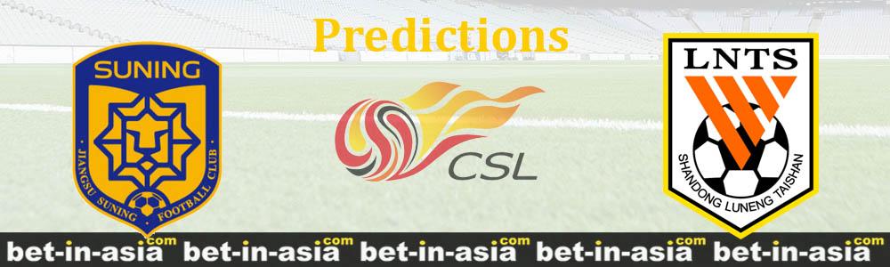 suning shandong predictions