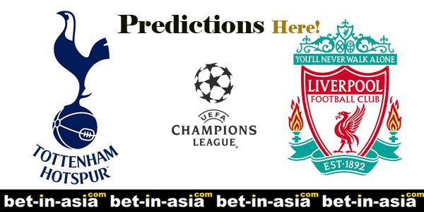 tottenham liverpool predictions